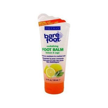 Freeman Lemon + Sage Foot Balm 5.30 Oz ( 3 Pack)