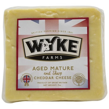 Wyke Farms Aged Mature and Sharp Cheddar Cheese, 7 oz