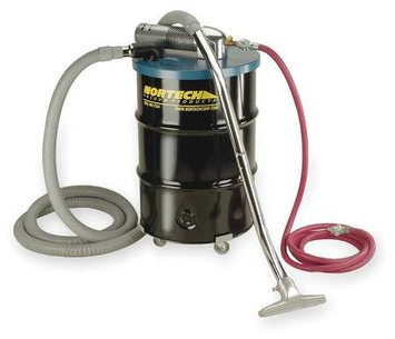 NORTECH N551BCX-NED Pneumatic Vacuum,15 HP,55 gal,89 cfm