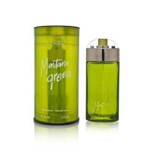 Montana Green by Claude Montana for Men 1.0 oz Eau de Toilette Spray