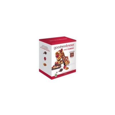 Goodnessknows Cranberry, Dark Chocolate & Almond Snack Squares (18 ct.)