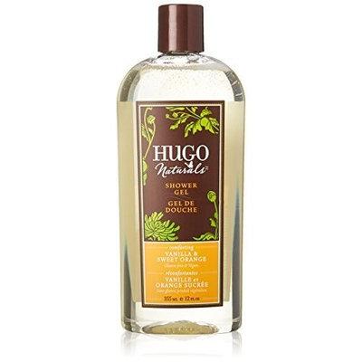 Hugo Naturals Shower Gel, Vanilla and Sweet Orange, 12-Ounce by Hugo Naturals