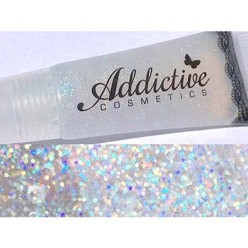 Glitter Lip Gloss CONFETTI Lip Junkie- Thick and Rich- Non Sticky Vegan Friendly and Cruelty Free Formula- Made in the USA