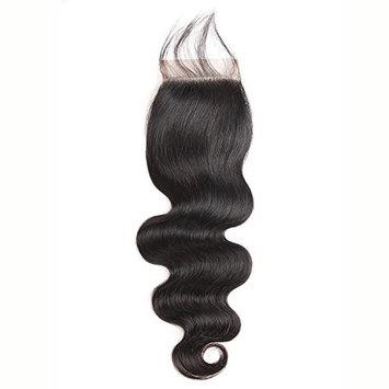 SuperNova Hair Brazilian Body Wave 44 Lace Closures Virgin Human Hair Cheap Human Hair Closures For Weave (18inch free part)