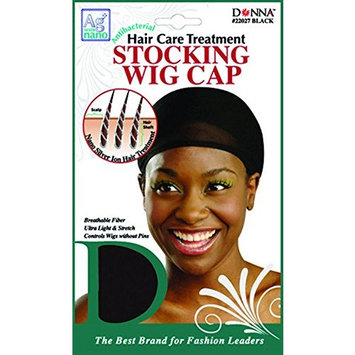 Donna's Antibacterial Hair Care Treatment Stocking Cap (Black)