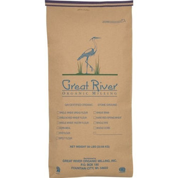 Great River Organic Milling Organic Whole Grains Pearled Barley, 50-Pounds [Pearled Barley]
