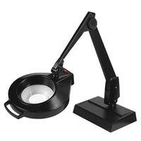 Dazor Circline Desk Base 28-Inch Magnifier - 11-Diopter 3.75X - Black