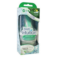 Wilkinson by Schick Intuition Sensitive Care Razor with 1 Refill Cartridge and Shower Hanger + FREE Makeup Blender