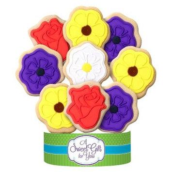 Wild Flowers Cookie Bouquet 9 Cookie Arrangement