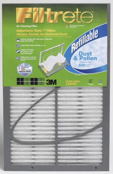 20x25x1 Filtrete 500 Dust & Pollen Refillable Filter by 3M