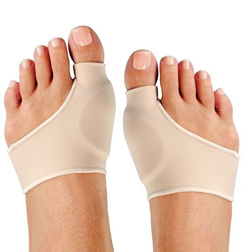 FootMatters Bunion Pads Spandex Gel Cushions Large