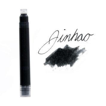 JinHao Fountain Pen International Size Ink Cartridges, Black Ink, Each