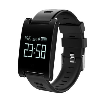 Fixm Waterproof Fitness Tracker Smart Watch Smart with Blood Pressure Monitor, Heart Rate Monitor, for IOS and Android