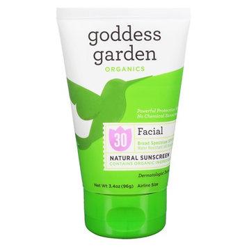 Goddess Garden Sunny Face Natural Sunscreen SPF 30 3.4 oz.