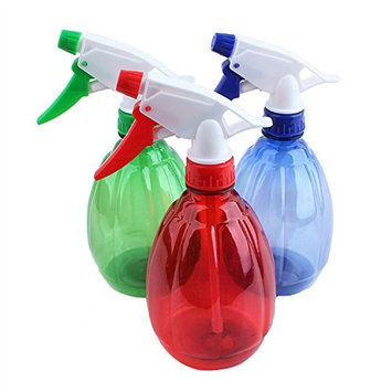 1 PCS Clear Trigger Spray Bottle Water Plant Beauty Salon Supply Hairdressing Shampoo Empty Spray Bottle(Color Random)