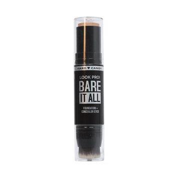 Nu World Beauty Hard Candy Look Pro Bare It All Foundation Stick, 1358, Fair, 1 oz