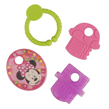 Disney Minnie Mouse Teether Keys with Rattle and Link