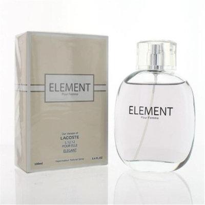 Secret Plus ZZWSPELEMENT34EDPSPR 3.4 oz Element Eau De Parfum Spray for Women