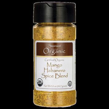 Swanson Certified Organic Mango Habanero Spice 3.2 oz (90.7 g) Pwdr