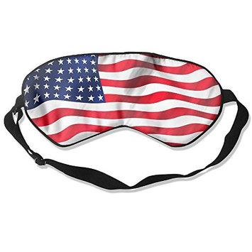 GKAHSICN American Flag Sleep Silkworm Eye Mask