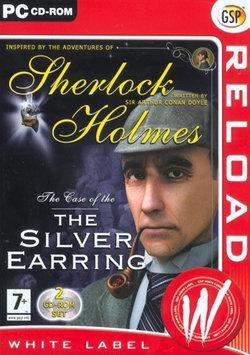 Cdv Sherlock Holmes Silver Earring