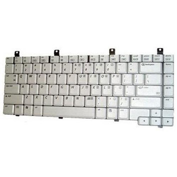 HQRP Replacement pk13zz77300 Keyboard for HP Compaq 350787-001, 310640-001, 367777-001