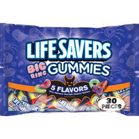 Life Savers Big Ring Gummies Candy, 30 count, 9.9 oz