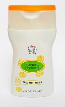 RAEKA Turmeric Cucumber Peel-Off Face Mask