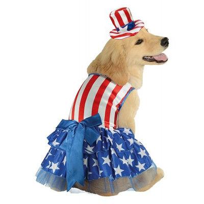 Rubies Patriotic Pooch Girl Pet Costume