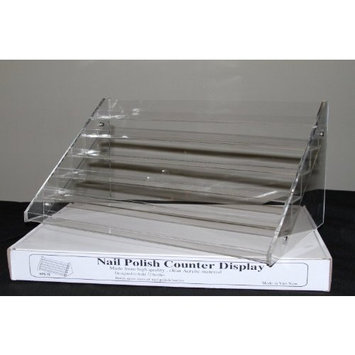 Sodynee Nail Polish Table Rack Display (Hold Up To 72 Bottles)