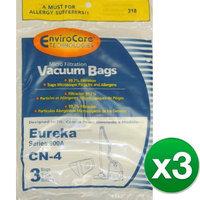 Replacement Vacuum Bag for Eureka 68937 / 318 3-Pack Replacement Vacuum Bag
