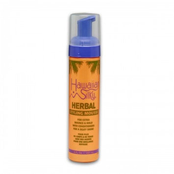 Hawaiian Silky Herbal Styling Mousse 8 Oz