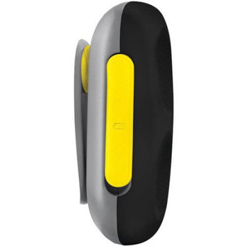 HMDX Clip-It Portable Splashproof Wireless Speaker (Pineapple Yellow)