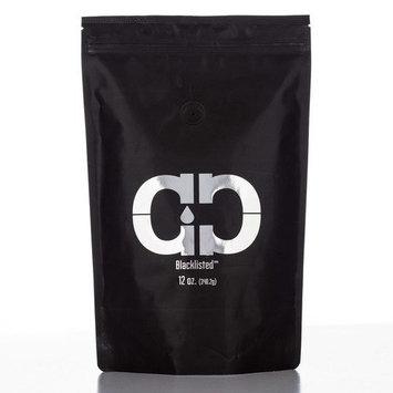 Caveman Coffee Blacklisted, Dark Roast, Colombia Single Origin, Low Acidity, UTZ & Rainforest Alliance Certified, Paleo Certified, Whole Bean, 12 oz Bag [Blacklisted - Dark Roast]