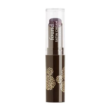 FOUND Lip Satin Cream Lipstick with Meadowfoam Seed Oil, 140 Black Currant, 0.1 Fl Oz