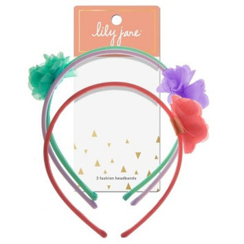 Lily Jane Fashion Headbands - 3ct