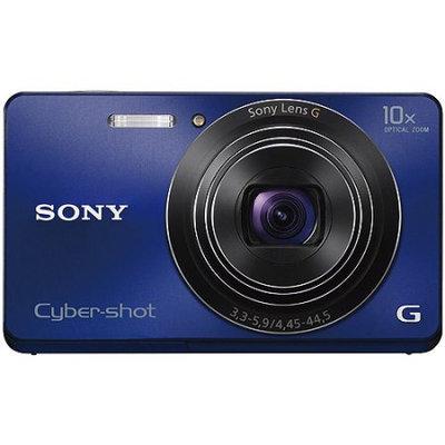 Sony Cyber Shot DSC-W690 16.1MP Blue Digital Camera