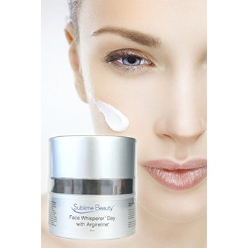 Face Whisperer Day Cream with Argireline, 1.7 oz. Anti Aging Moisturizer from Sublime Beauty to Relax Wrinkles & Hydrate