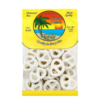 Island Snacks Yogurt Pretzels, 5-Ounce (Pack Of 6)
