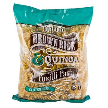 Trader Joe's Organic Brown Rice & Quinoa Fusilli Pasta (Gluten Free)