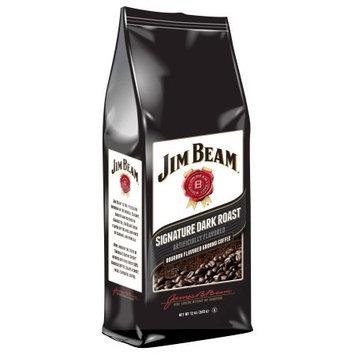 White Coffee Jim Beam Original Ground Coffee 12oz.