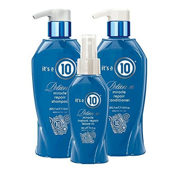 Its a 10 Potion 10 Miracle Repair Shampoo, Conditioner & Leave in Spray Set