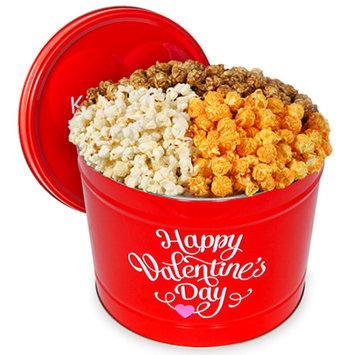 Valentine's Day Popcorn Tin - Traditional 2 Gallon - Traditional 2 Gallon