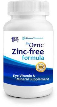 Pro Optic Pro-Optic Zinc Free Formula (6O Capsules) One-Per-Day