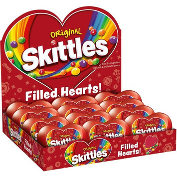 SKITTLES Original Filled Valentine's Day Heart 2.17 Ounce, 12-Count