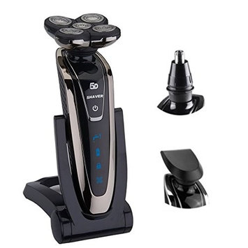Original 5 blade Rotate electric shaver face beard electric razor for men wet dry rechargeable 5D shaving machine Waterproof