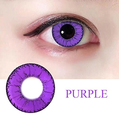 Women Multi-Color Colored Cute Charm and Attractive Fashion Contact Lenses Cosmetic Makeup Eye Shadow