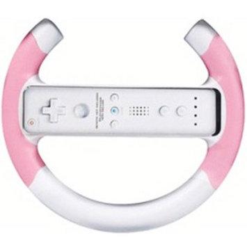 Intec G5696 Racing Wheel - Pink - Nintendo Wii
