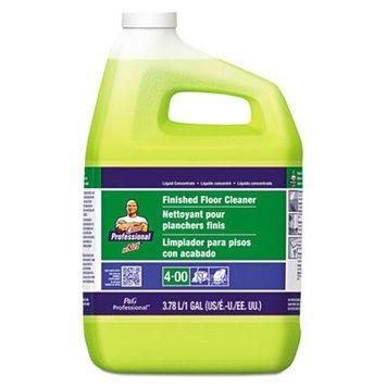 Mr. Clean M.Net Finished Floor Cleaner, 1 Gallon Bottle, 3 Bottles per Carton