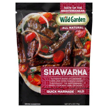 Wild Garden Shawarma Marinade, 6 OZ (Pack of 2)